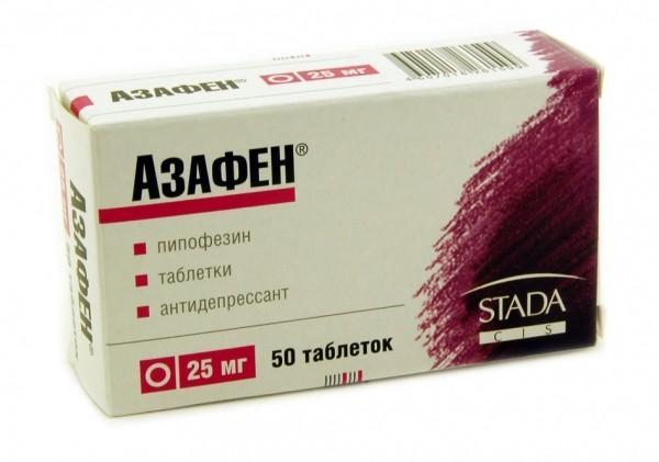 АЗАФЕН 0,025 N50 ТАБЛ Интернет-аптека Aptekavam Красноярск